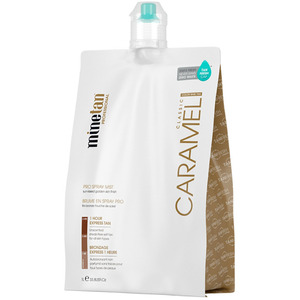MineTan Caramel Pro - Professional Spray Tan Solution 33.8 oz. - 1 Liter (M43568 - 43575)