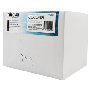 MineTan Coconut Water Pro - Professional Spray Tan Solution 128 oz. - 1 Gallon - 3.78 Liters (M43573 - 43573)