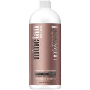 MineTan Ultra Dark Pro - Professional Spray Tan Solution 33.8 oz. - 1 Liter (43688)