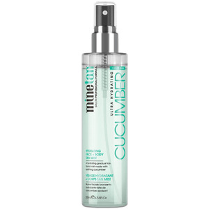 MineTan - Cucumber Hydrating Face & Body Tan Mist 6.7 oz. - 200 mL. (96629)