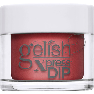 Gelish Xpress Dip - Disney Villains Collection - Just One Bite - Candy Apple Red Shimmer (The Evil Queen) 43g - 1.5 oz. (M1620401 - 1620400)