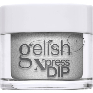 Gelish Xpress Dip - Disney Villains Collection - Fashion Above All - Silver Metallic (Cruella de Vil) 43g - 1.5 oz. (M1620401 - 1620401)