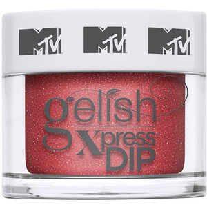 Gelish Xpress Dip - MTV Switch on Color Collection - Total Request Red 43g - 1.5 oz. (M1620401 - 1620400)