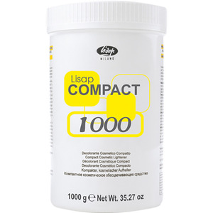 Lisap Compact Bleach 35.27 oz. - 1000 Grams (150016000)