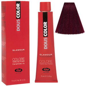 Lisap DousColor Glamour Intense Reds - 380 - 2.5 oz. - 75 mL. (M130302057 - 130302057)