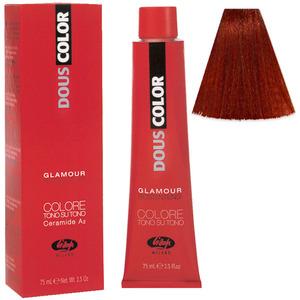 Lisap DousColor Glamour Intense Reds - 656 - 2.5 oz. - 75 mL. (M130302057 - 130302060)