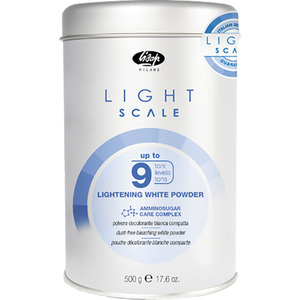 Lisap Light Scale Up to 9 Bleach 17.6 oz. - 500 mL. (150025000)