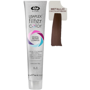 Lisap Lisaplex Filter Color - Chocolate Mauve - 3.5 oz. - 100 mL. (M120010001 - 120010009)