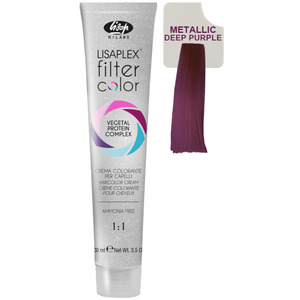 Lisap Lisaplex Filter Color - Deep Purple - 3.5 oz. - 100 mL. (M120010001 - 120010011)
