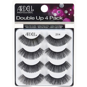 Ardell Double Up Strip Lashes #204 4 Pair (6752)