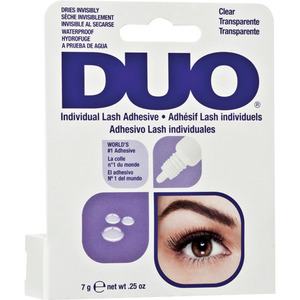 Ardell Duo Individual Lash Adhesive - Clear 0.25 oz. - 7 Grams (6720)