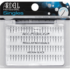 Ardell Individual Black Single Knotted Lashes - Medium 56 Individual Lashes (M36861 - 36861)