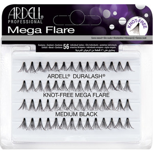 Ardell Individual Mega Knot Free Lashes - Black - Medium 56 Individual Lashes (M6690 - 6691)