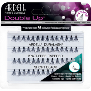 Ardell Individual Soft Touch Double Knot Free Lashes - Black - Short 56 Individual Lashes (M6687 - 6687)