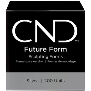CND Future Form Sculpting Forms - Perfect for Use with the CND Plexigel System! 200 Count (8784)