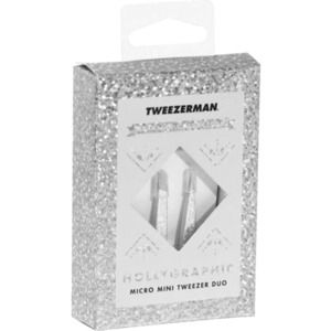 Tweezerman Hollygraphic Micro Mini Tweezer Duo (1723)