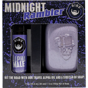 GIBS Midnight Rambler Duo - Alpha Male Oil & Alpha Soap (9052019)