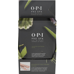 OPI Pro Spa Advanced Softening Pedicure Socks - Single Use - Ultra-Moisturizing 6 Pack (AS106)