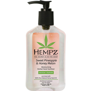 Hempz Sweet Pineapple & Honey Melon Hand Santizer 8.5 oz. - 250 mL. (M55156 - 55157)