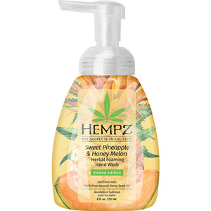 Hempz Sweet Pineapple & Honey Melon Hand Wash 8 oz. - 237 mL. (55158)
