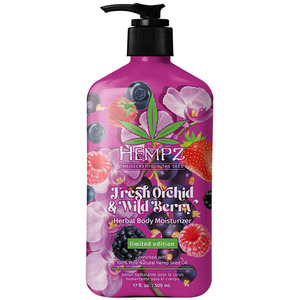 Hempz Fresh Orchid & Wildy Berry Moisturizer 17 oz. - 500 mL. (55163)