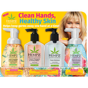 Hempz Clean Hands Healthy Skin Display (55160)