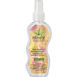 Hempz Fresh Fusions Pink Citron & Mimosa Flower Body Mist 4.4 oz. - 130 mL. (55153)