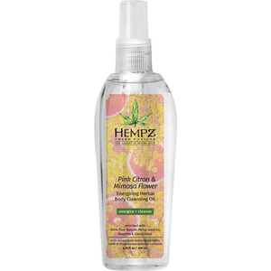 Hempz Fresh Fusions Pink Citron & Mimosa Flower Cleansing Oil 6.76 oz. - 200 mL. (55152)