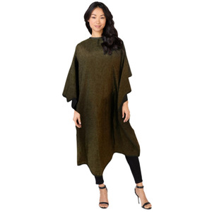 "Betty Dain All-Purpose Reversible Midnight Shimmer Cape - 45"" W x 58"" L (87202)"