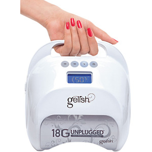 Gelish 18G Unplugged LED Light - Cordless Rechargeable Curing Light (1168012)