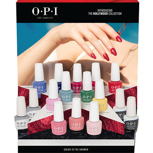 OPI GelColor Soak Off Gel Polish - Hollywood Collection - 16 Piece Chipboard Display (GC305)