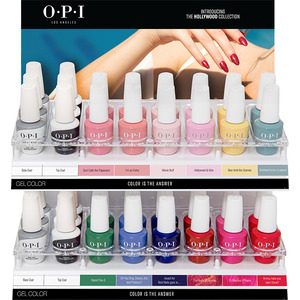 OPI GelColor Soak Off Gel Polish - Hollywood Collection - 36 Piece Acrylic Display (GC306)