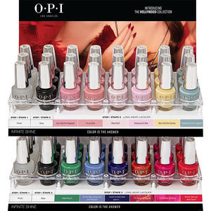 OPI Infinite Shine - Hollywood Collection - 48 Piece Acrylic Display (ISDH62)