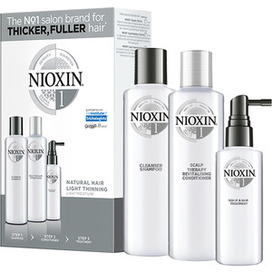 Nioxin Kit - System 1 - for Natural Hair with Light Thinning (99240009137)