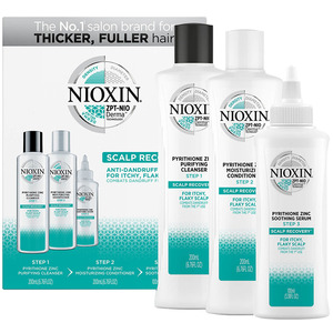 Nioxin Scalp Recovery Anti-Dandruff Medicating Cleanser Kit For Itchy Flaky Dry Scalp (99240010837)