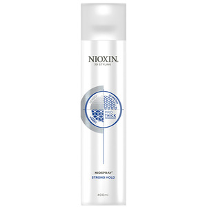 Nioxin Styling Niospray Strong Hold Hairspray For Longer Lasting End Looks 13.5 oz. - 400 mL. (99240072324)