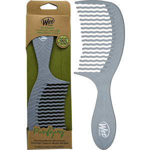Wet Brush Pro Go Green Comb - Charcoal Infused Treatment Comb (M17045 - 17047)