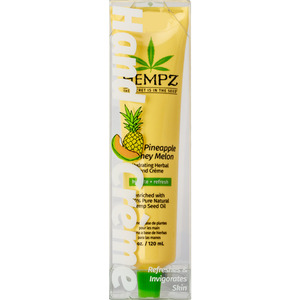 Hempz Hydrating Herbal Hand Crème - Pineapple Melon 4 oz. - 120 mL. (M55524 - 55526)