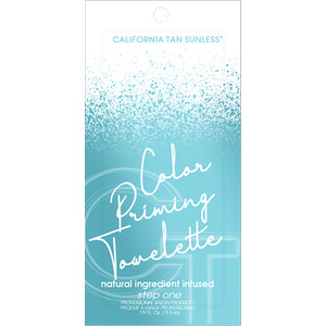 California Tan Sunless Color Priming Towelette 0.19 fl. oz. - 5.5 mL. (21861)