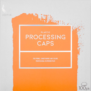 Colortrak Clear Processing Caps 100 Pack (4100BB)