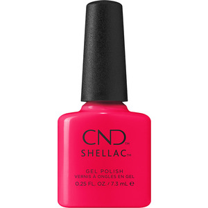 CND Shellac - Summer City Chic Collection - Sangria at Sunset (Fruity Red Blend) 0.25 oz. - The 14 Day Manicure is Here! (M5400 - 5402)