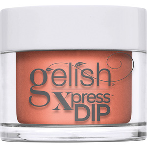 Gelish Xpress Dip - Feel The Vibes Collection - Orange Crush Blush 1.5 oz (M1620422 - 1620425)