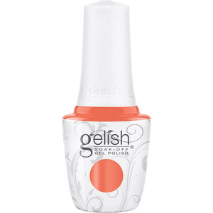 Gelish Soak-Off Gel Polish - Feel The Vibes Collection - Orange Crush Blush 0.5 fl. oz. (M1110422 - 1110425)