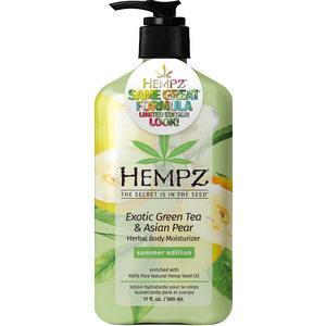 Hempz Exotic Green Tea & Asian Pear Body Moisturizer 17 fl. oz. - 500 mL. (41321 LE)