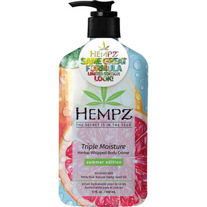 Hempz Limited Edition Triple Moisture Moisturizer 17 fl. oz. - 500 mL. (41782 LE)
