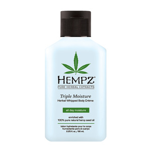 Hempz Triple Moisture Body Creme 2.25 fl. oz. - 66 mL. (M41267 - 41268)