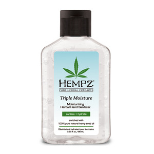 Hempz Triple Moisture Hand Sanitizer 2.25 fl. oz. - 66 mL. (M41518 - 41519)
