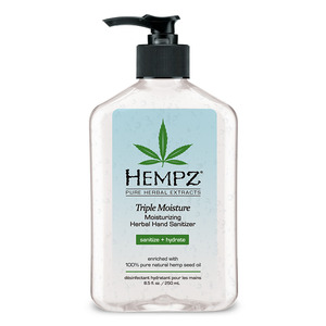 Hempz Triple Moisture Hand Sanitizer 8.5 fl. oz. - 250 mL. (M41518 - 41518)
