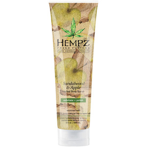 Hempz Sandalwood & Apple Body Scrub 9 fl. oz. - 265 mL. (M41866 - 41866)