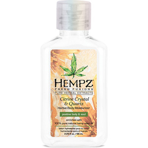 Hempz Citrine Crystal & Quartz Moisturizer 2.25 fl. oz. - 66 mL. (M50738 - 50738)